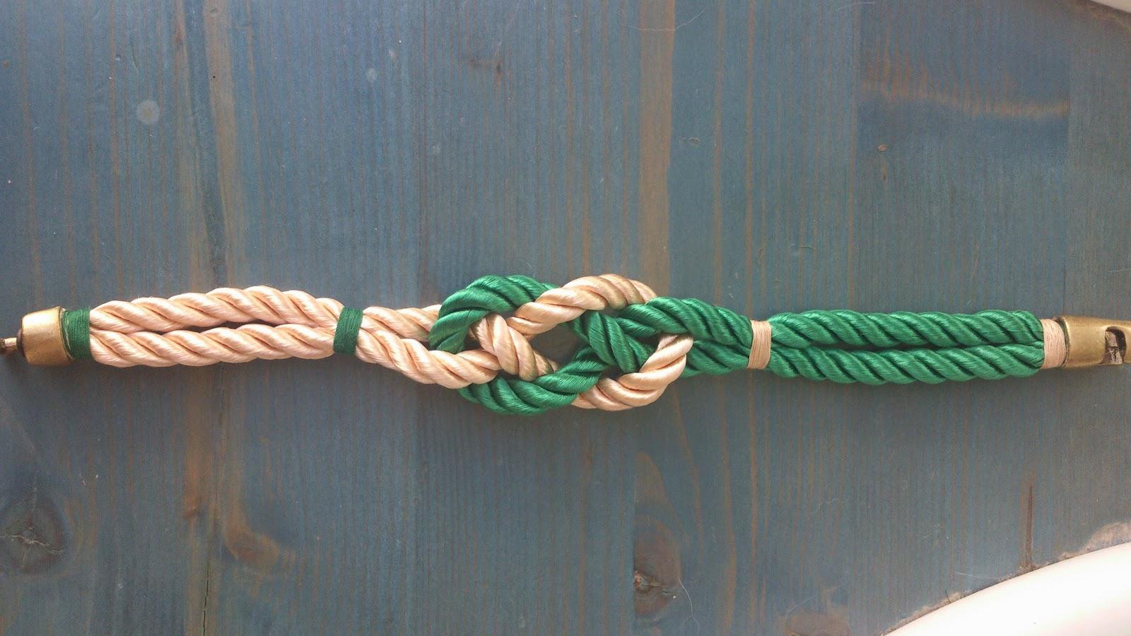Klettissimo pulsera para caballero nudo marinero - Nudos marineros para pulseras ...