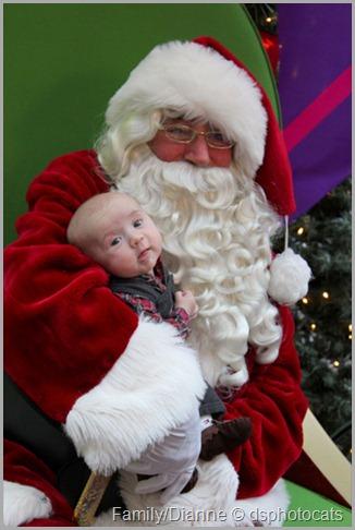 Baby Michael's 1st Christmas