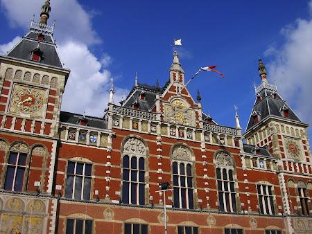 Trenuri Olanda: Gara Amsterdam