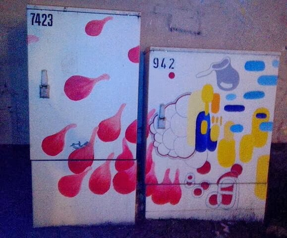 Verteilerkasten Street Art Flensburg