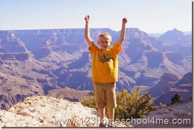 Family Vacation in Grand Cayon Arizona