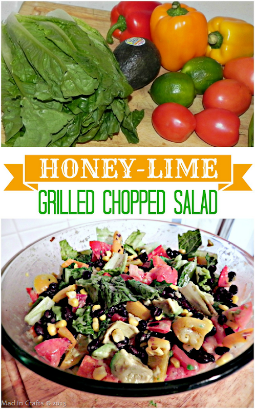 Honey Lime Grilled Chopped Salad