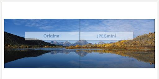 Come ridurre le dimensioni e il peso di un'immagine