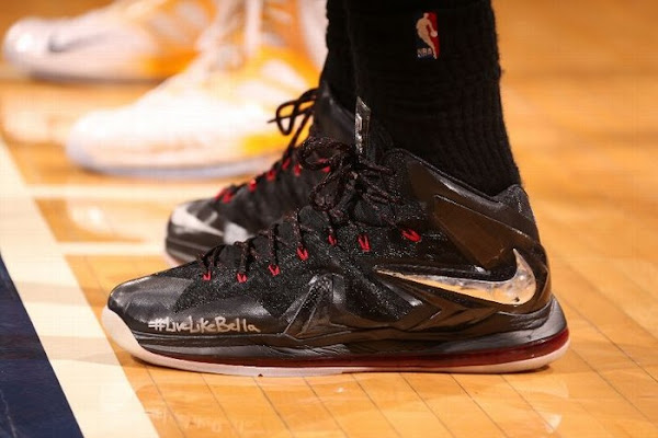 Closer Look at Nike LeBron X PS Elite Away PE LiveLikeBella