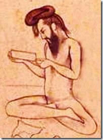Gimnosofista (disegno stampa)