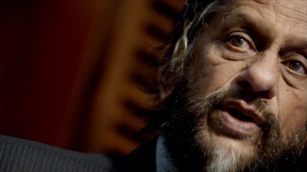 'We have five minutes before midnight,' warned Rajendra Pachauri, whose organisation, the IPCC, will this month release the first volume of a new assessment of global warming and its impacts. Photo: AFP