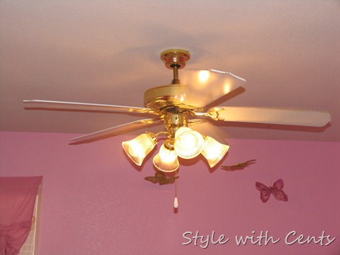 Style With Cents 2 Ceiling Fan Make Over With Tutorial