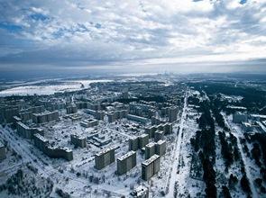 Arquitectura-Pripiat-La-ciudad-Fantasma-de-Chernóbil-Al-fondo-la-central