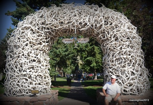 At the Square in Jackson Hole, WY