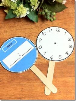 clock paddles