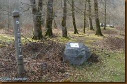 Señalización dolmen Ithé 1