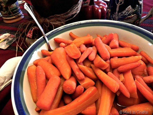 Homegrown Carrots with Beer