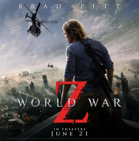 Brad Pitt for World War Z