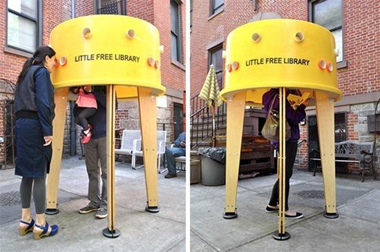 Pequena biblioteca livre (1)