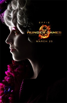 The Hunger Games Elizabeth Banks is Effie Trinket