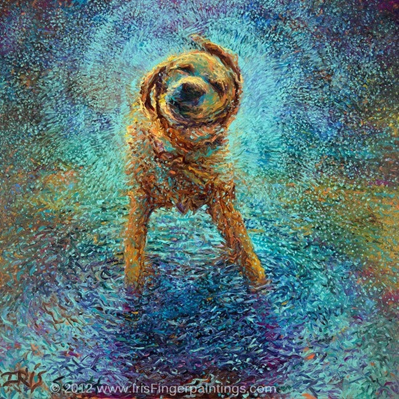 Beautiful Pet Paintings of Dogs and Cats