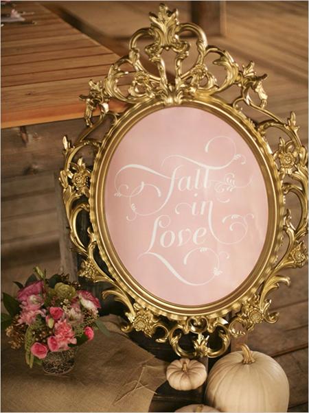 Semplicemente Perfetto Fall Wedding Idea 3