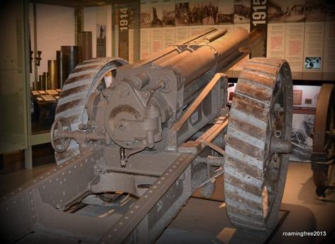 WW1 cannon