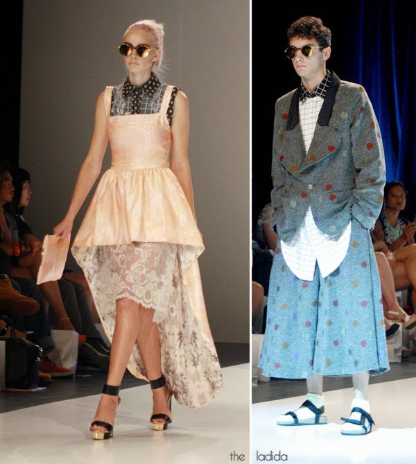 Raffles Graduate Fashion Show 2013 - Helen Nguyen and Natalie Nguyen (2)