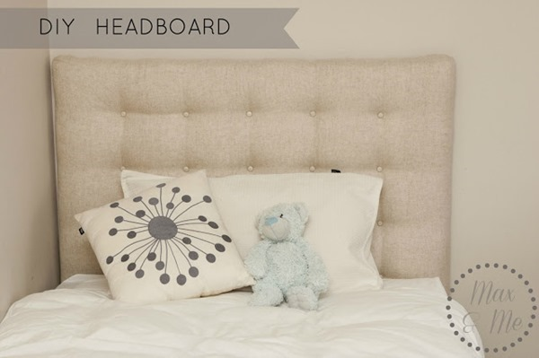 Max's Bed makeover HEADBOARD