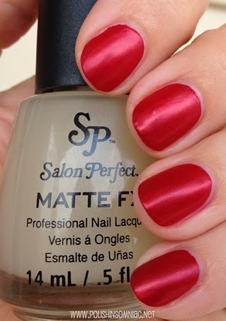 Salon Perfect Scarlet Enchantment with Matte FX
