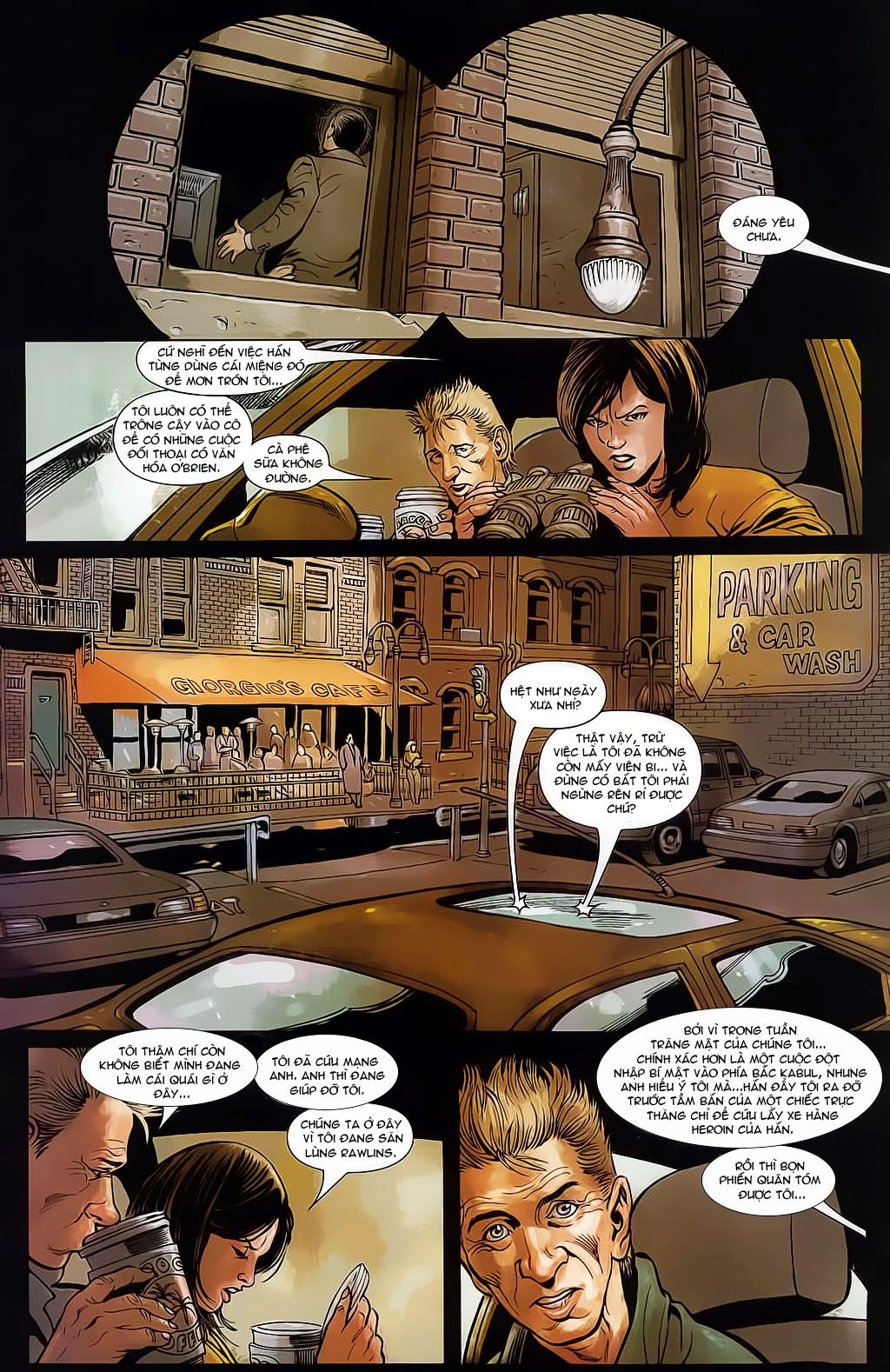 The Punisher: Trên là Dưới & Trắng là Đen chap 4 - Trang 11