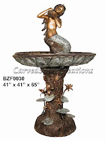 Mermaid Cascading Fountain