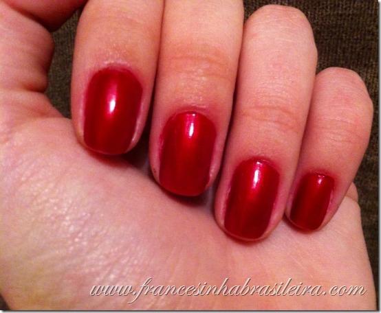Vermelhérrimo - unhas da Gi