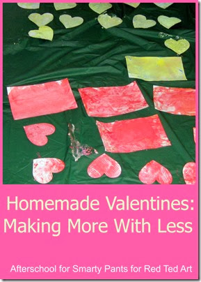 Mass Producing Homemade Valentines