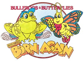 bullfrogs and butterflies original