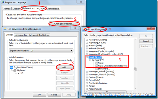 Windows 7 Nepali Unicode