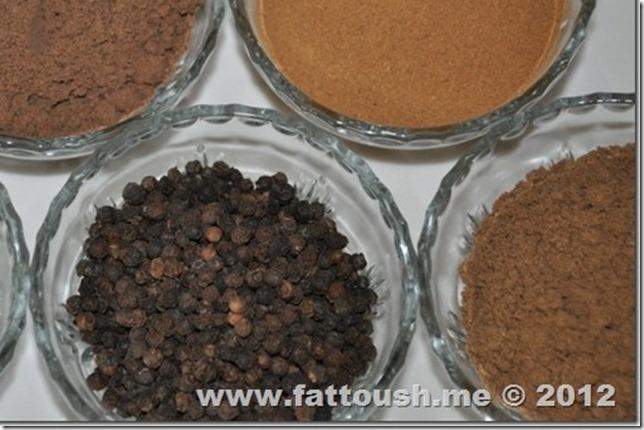 وصفة البهارات المشكلة من www.fasttoush.me