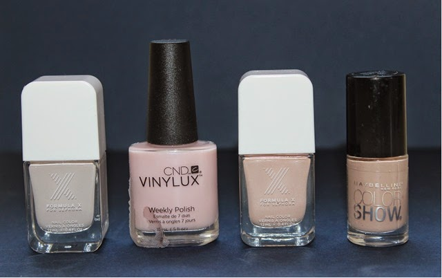 Nude Nail Polishes Spring 2014