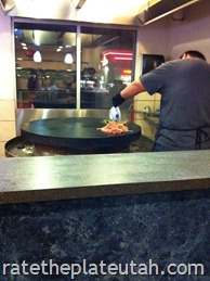 Mongolian Grill Cooking