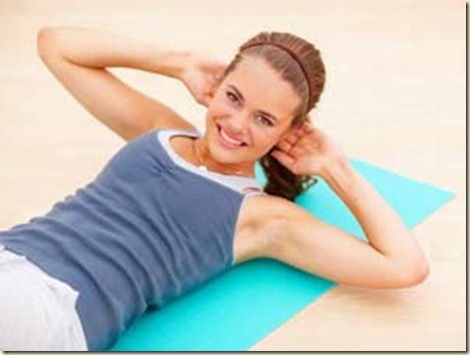 Ejercicios para abdominales femenino2