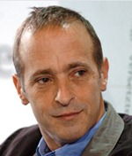 Image #: 5164494    American author David Sedaris is shown at the Frankfurt Book Fair, as he introduces his new book, on October 8, 2004.    dpa /Landov