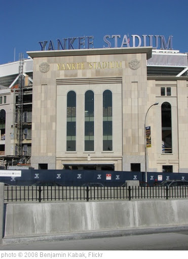 'Yankee Stadium Yankee Stadium' photo (c) 2008, Benjamin Kabak - license: http://creativecommons.org/licenses/by-nd/2.0/