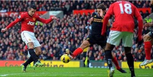 Hasil Manchester United vs Liverpool Liga Inggris Minggu 13 Januari 2013