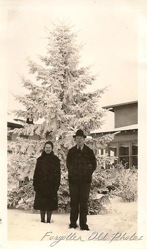 Jan 1939 Evelyn and Len Grotness