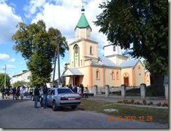 Храм на честь свт. Миколая Чудотворця в м. Ківерці