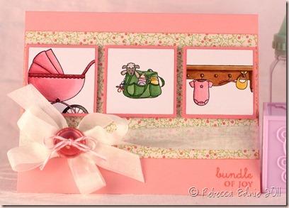 tara baby girl card