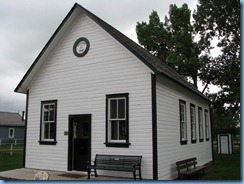 0980 Alberta Calgary - Heritage Park Historical Village - 1910 Weedon School