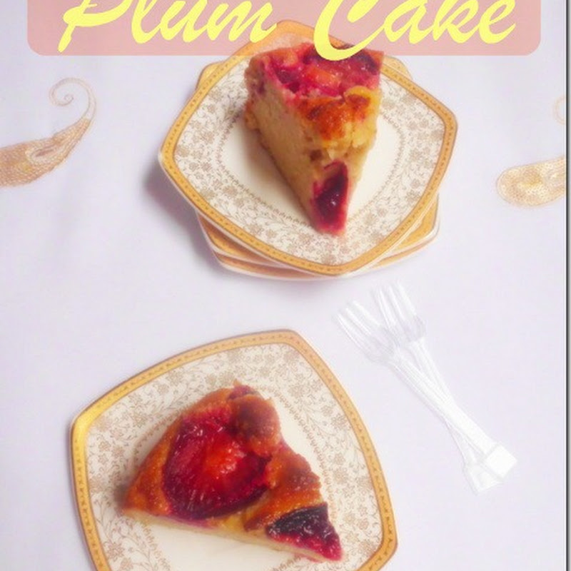 Open-Face Plum Cake Recipe