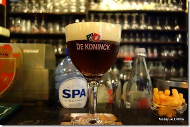 """De Koninck、通称""""ボルケ"""" アントワープの地ビール"""