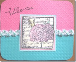 2012 May inspiration color swatch card