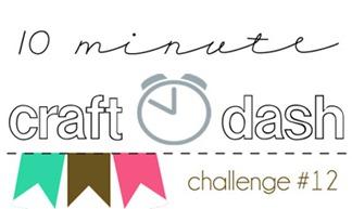 10 Minute Dash Challenge Graphic