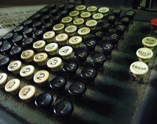 Máquina de somar (Aaron Kyle em Flickr)