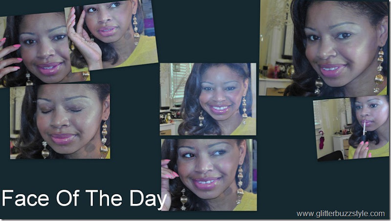 Face Of The Day Yellow
