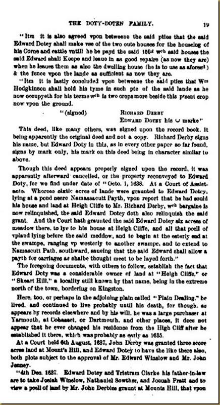 Doty-Doten Family In America - The Family of Edward Doty (14)