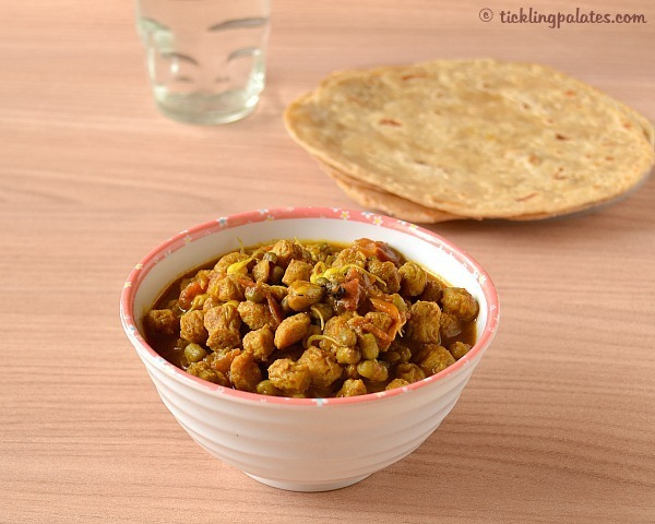 side dish for chapathis or rotis